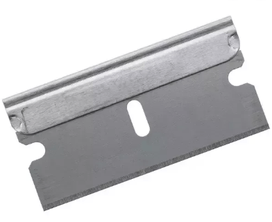 razor blade para editar fita magnetica cortando como antigamente analogico