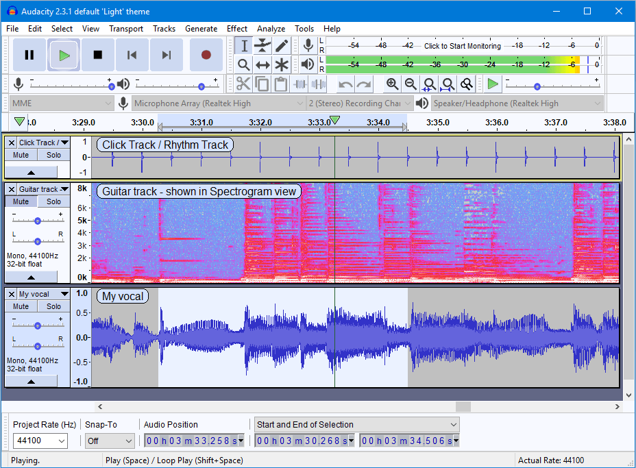 audacity programa open source de edição de audio
