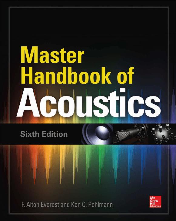 Livro Master Handbook of acoustics