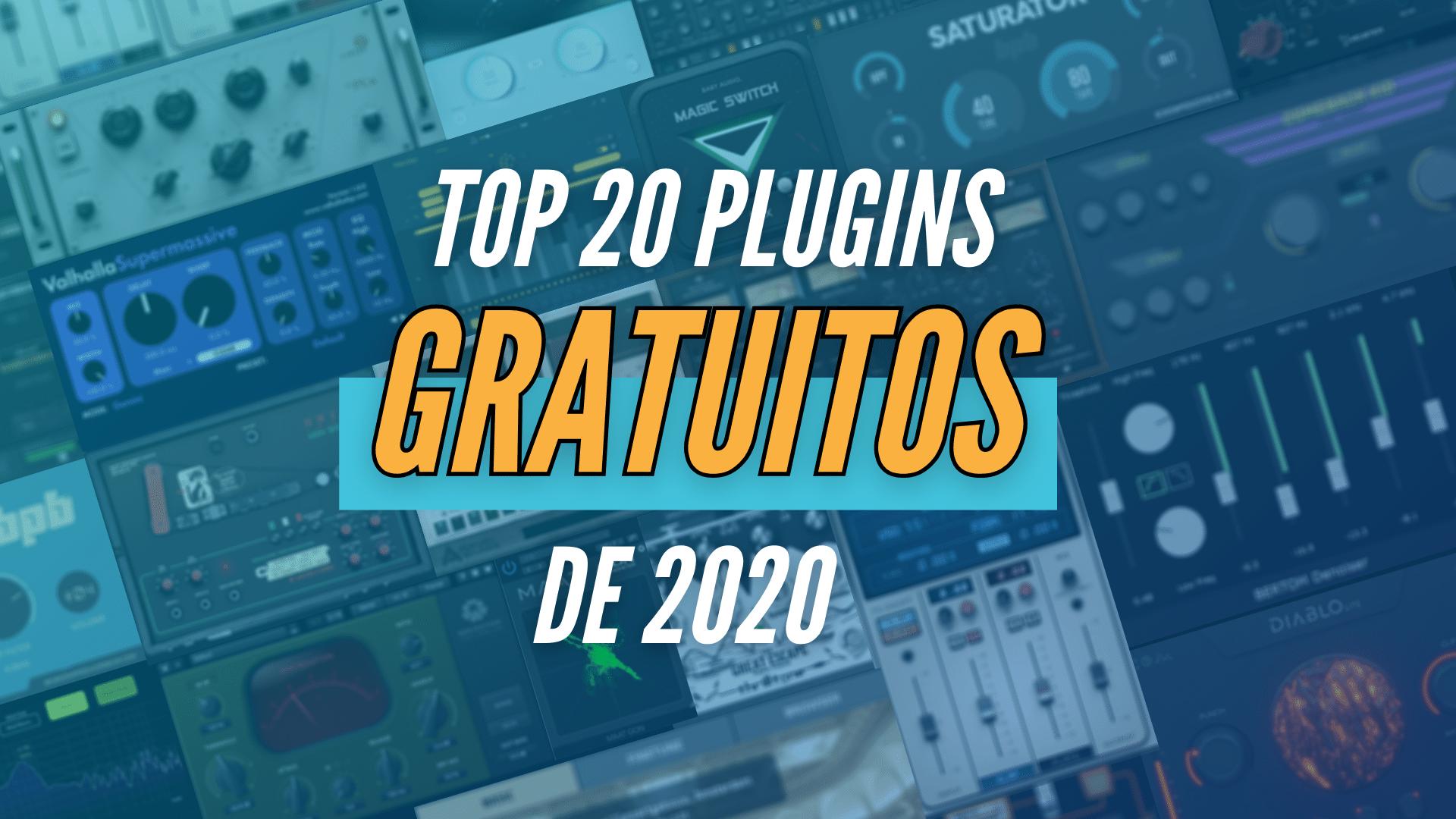 top 20 plugins de audio gratuitos de 2020 para produção musical